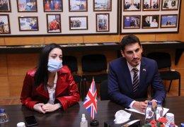 """""""British Council""""ın yeni rəhbəri Azərbaycan Dövlət Aqrar Universitetində"""